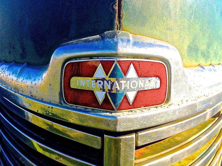 International Harvester Truck >> Triple Diamond emblem on a 1949 International KB-5 Truck ...