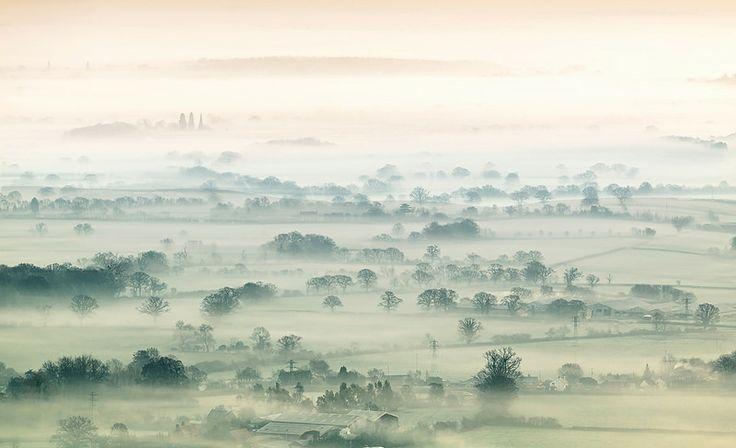 Mist Shrouded Valley