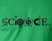Science cool artistic T shirt screenprinted Tee for the science lover