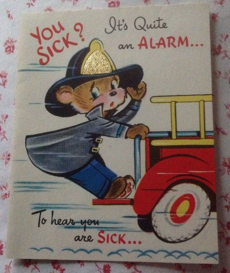 Vintage 1950s Get Well Greeting Card Cute Teddy Bear Fireman on Fire Engine FOR SALE • $8.50 • See Photos! Money Back Guarantee. Vintage 1950s Get Well Greeting Card Cute Teddy Bear Fireman on Fire Engine ~ஐ~ Vintage greeting cards are mailed in photo mailers in order to protect the cards from possible 192302347766
