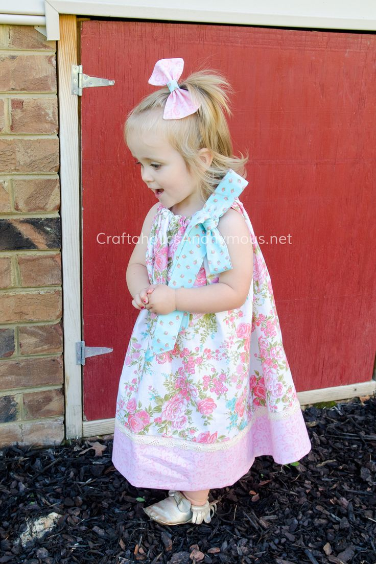 Craftaholics Anonymous® | Cutest DIY Pillowcase Dress + Giveaway & 31 best Our Products | Little Dress Boutique images on Pinterest ... pillowsntoast.com