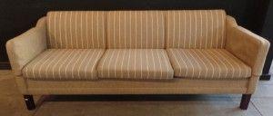 Interiors - Provenance Auction House: A Danish Illums Bolighus Three-Division Sofa.