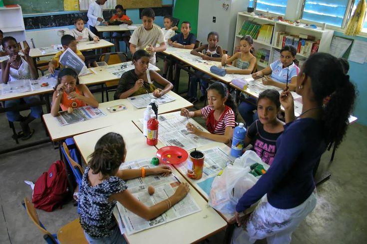 L'urgence du calendrier climatique-L'école en plein été à La Réunion