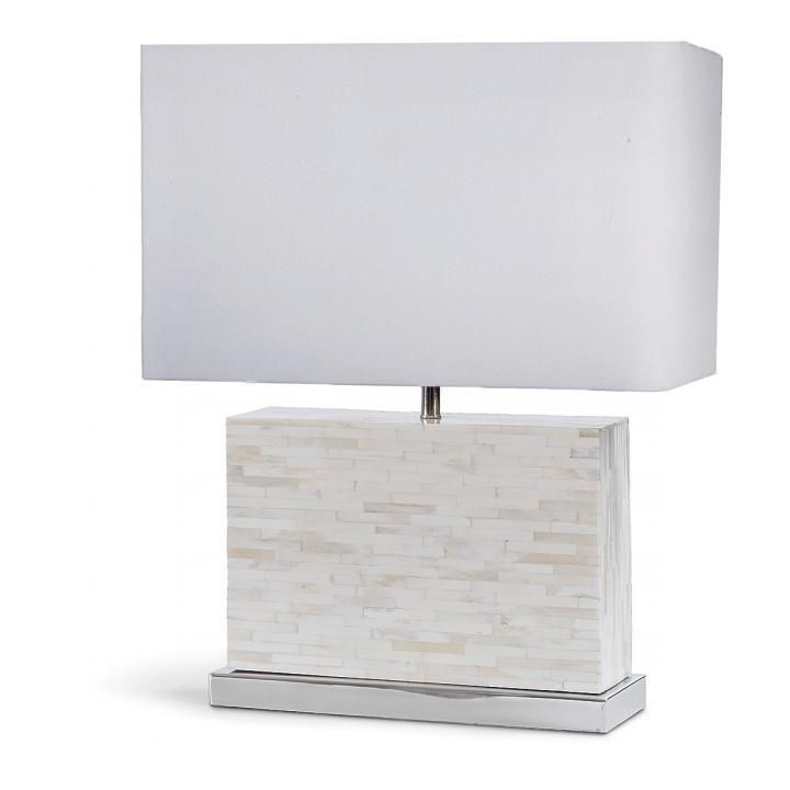Regina Andrew Mosaic Horizontal Bone Lamp - Designer Fabric Outlet