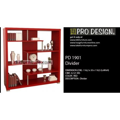 PD 1901 Pro design Condition:  New product  Ukuran (CM) : 116,2 x 35 x 118,5 (LxWxH) Tersedia warna : RED kualitas premium