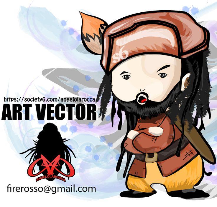 Art Vector Angelo Manga Vector manga version of myself. https://society6.com/product/angelo-manga_print… #art #vector #s6 #angelo #manga #arte #digital #vectors #crazyartsale