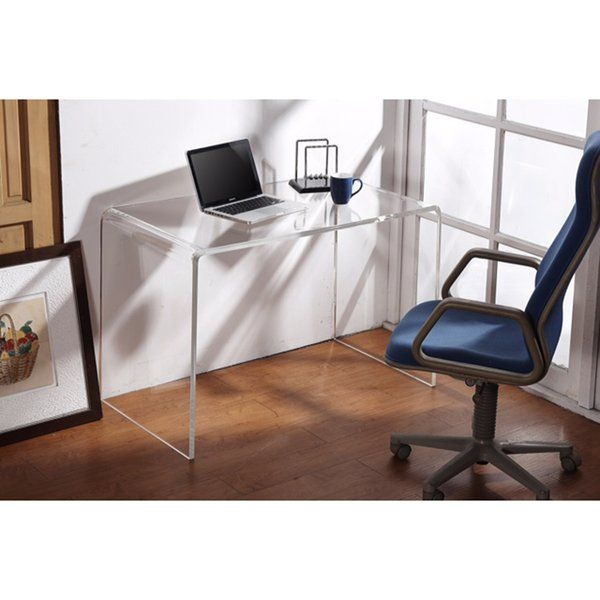 Acrylic Desk A Smart Choice For Modern Homes Furniture Lucite