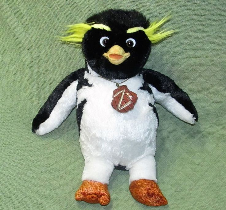 "Build A Bear CODY MAVERICK Surf's Up PENGUIN 18"" Plush Stuffed Movie Character  #BuildABear #Any"