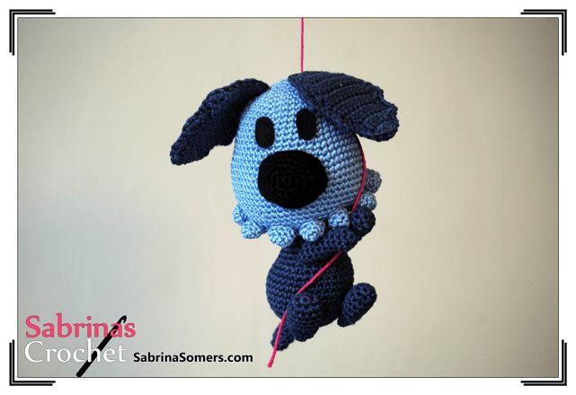 Woozle - Woozel and Pip - Free crochet pattern - Amigurumi