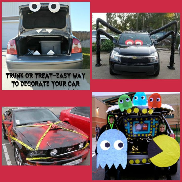 are you decorating your car for halloween here are some ideas show your creative
