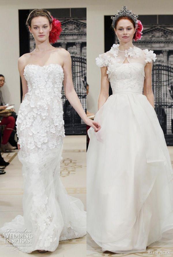 Best Reem Acra Wedding Dress Ideas Only On Pinterest Reem