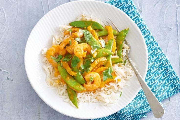 Zin in vis? Deze curry zet je binnen een kwartiertje op tafel. En pit dat-ie heeft! - Recept - Allerhande
