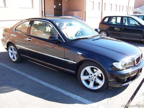 bmw 320 coupe blu - con lei...