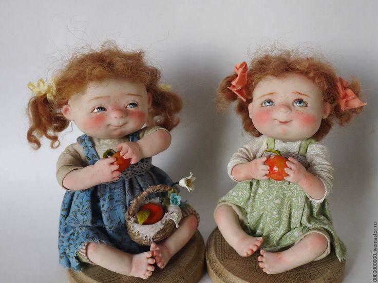 Купить Нюша - авторская ручная работа, авторская работа, авторская игрушка, авторская кукла