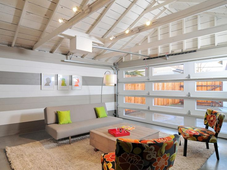 15 Home Garages Transformed Into Beautiful Living Spaces. Garage  ConversionsGarage Room ConversionGarage ... Part 18
