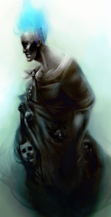 Hades, God of the dead and the underworld.