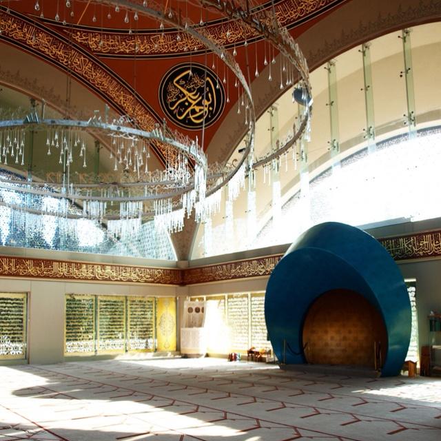 Sakirin Mosque, prayer hall, Istanbul