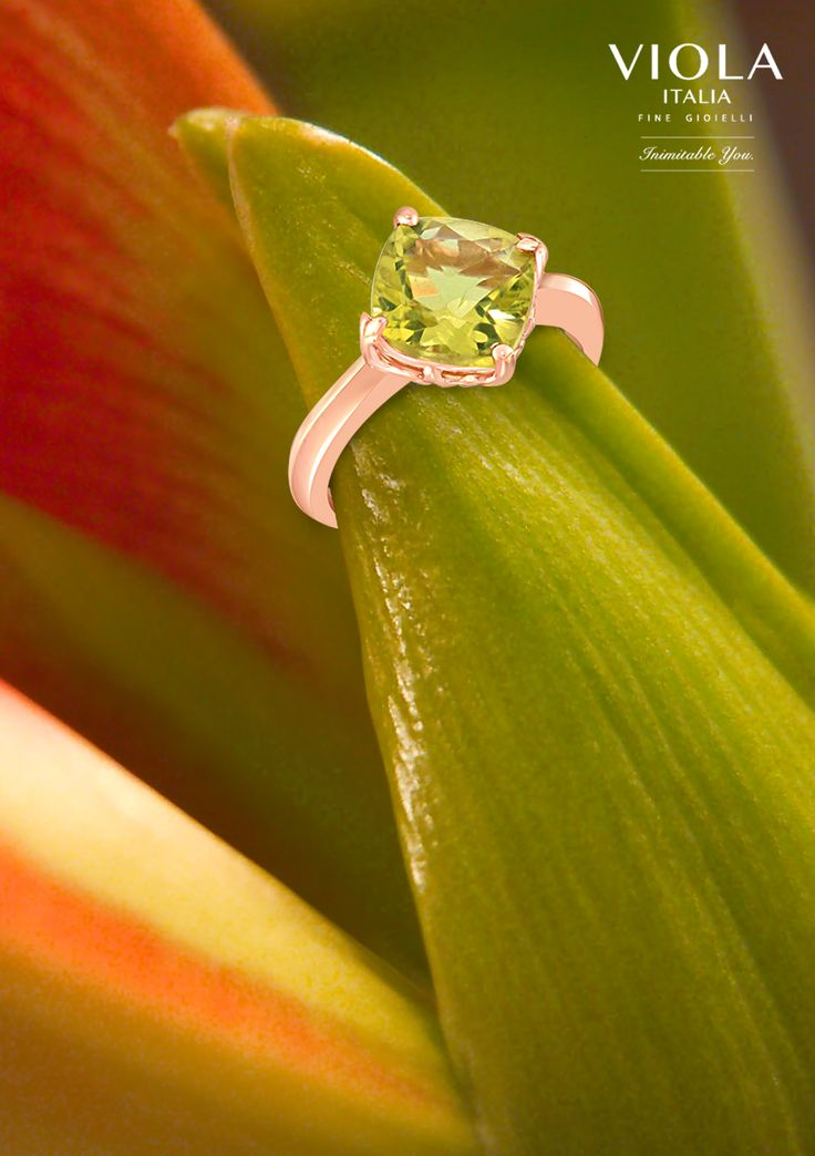 Green is the colour of hope, from a single green bud on a faded tree to a Green Amethyst glowing on your finger.