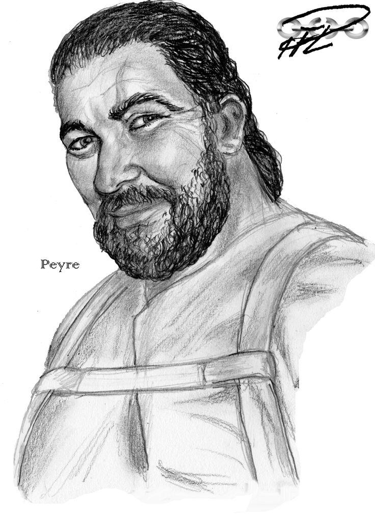 Peyre, Almutamer warrior