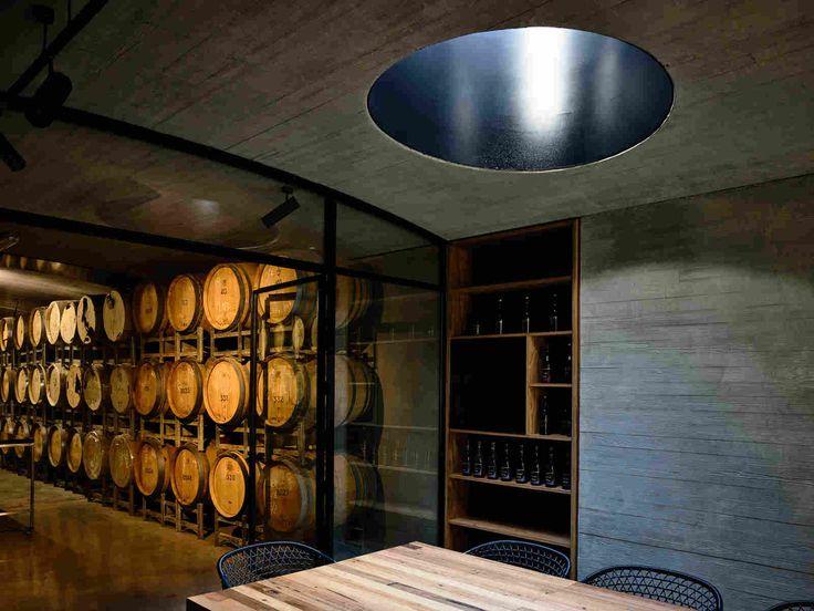 Дегустационный зал винодельни в Австралии