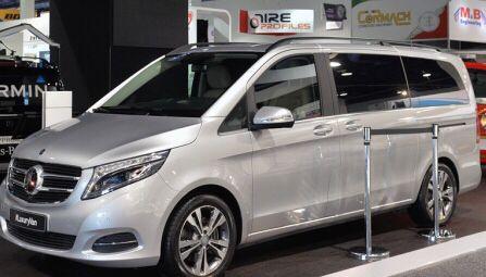 New Mercedes minivan called Metris