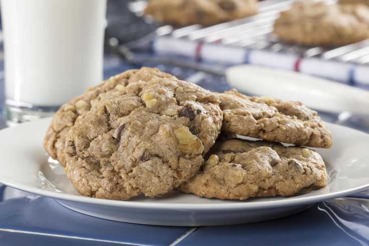 """We don't mean to brag, but these chocolate chip cookies are so mouthwatering that we had to give 'em the title of """"Best Cookie Ever."""" We bet you can't eat just one!"""