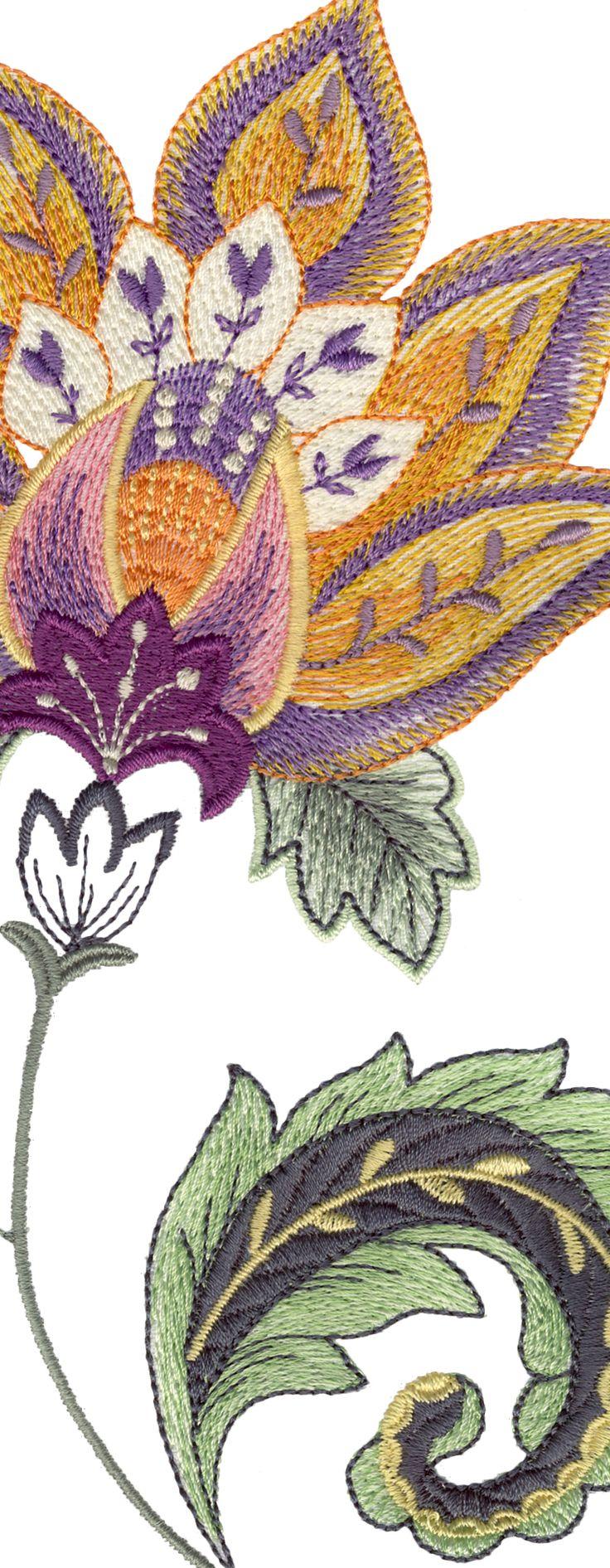 decoracion en bordado alto relieve