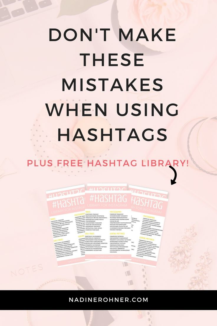 Free Hashtag Library for Instagram