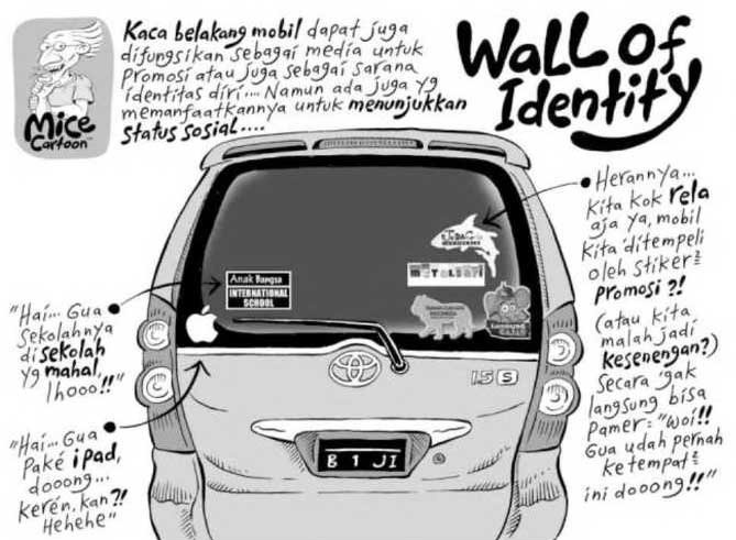 Wall of Identity (Benny and Mice)