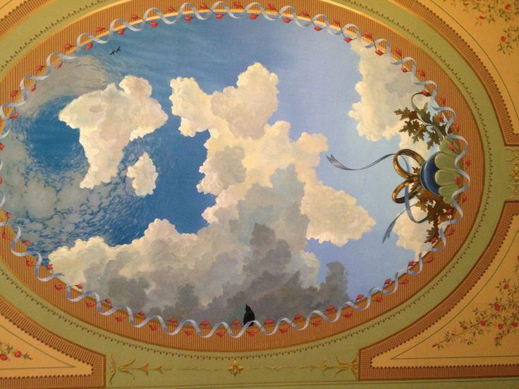 Ceiling detail, Lemp Mansion.