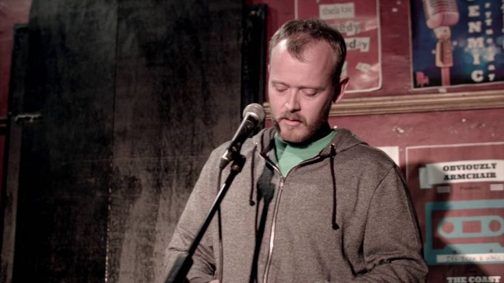 """In 2016 I performed an open mic comedy routine, """"Test Comedian""""."""