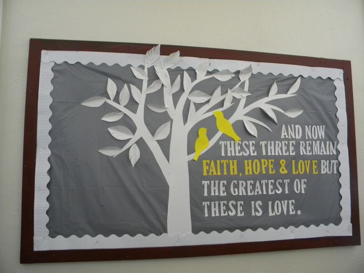 17 Best Images About 2nd Set Church Bulletin Board Ideas