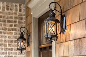 Image result for front porch light fixture