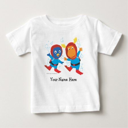 The Backyardigans   Scuba Adventure Baby T-Shirt - tap to personalize and get yours