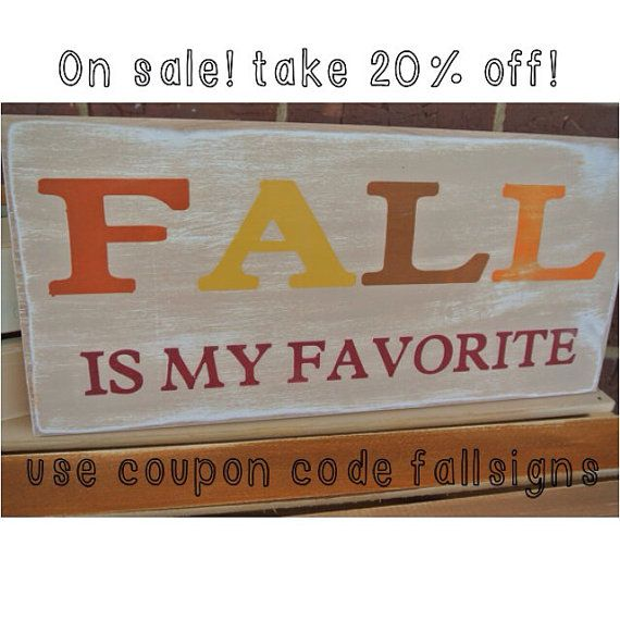 Fall Is My Favorite Fall Home Decor On Sale Now Take 20