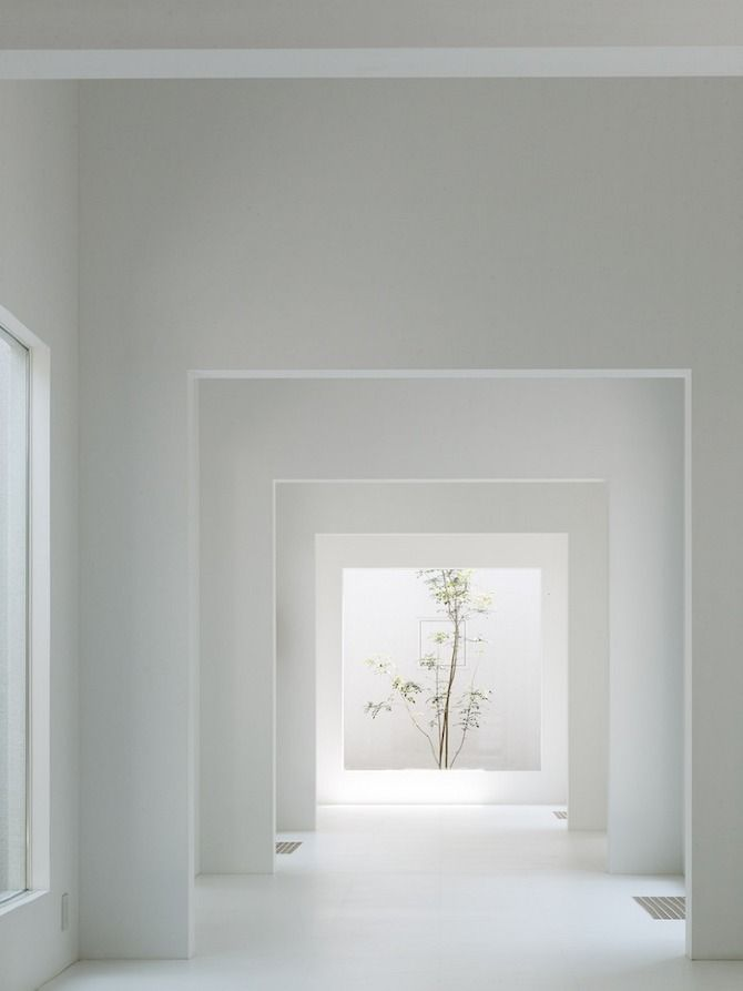 Chiyodanomori Dental Clinic by Hironaka Ogawa & Associates #architecture #interior #tree                                                                                                                                                                                 More