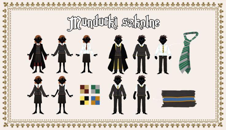 SA: Mundurki szkolne by Riddikulus-SA