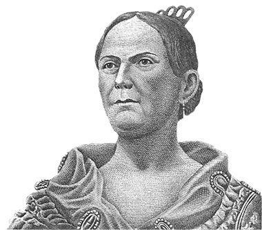 Josefa Ortiz de Domínguez (1768 Morelia, México - 1829 D. F. México). Hija de españoles.  Conocida también por el apodo de «la Corregidora de Querétaro», fue insurgente de la Independencia de México y esposa del corregidor de Querétar.
