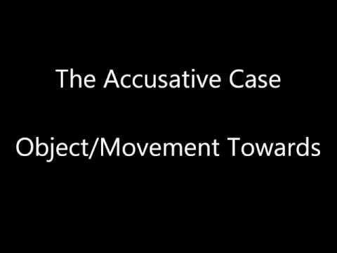 Latin Recap. Accusative Case