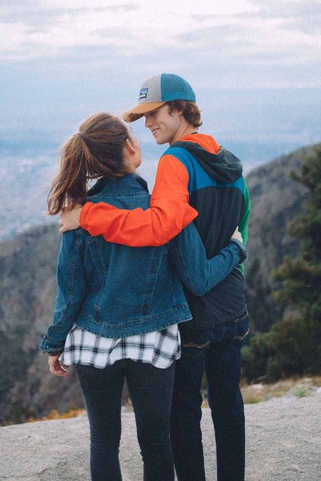 I hope someday my future boyfriend will like hiking because I love nature !!
