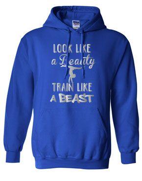 Beauty & Beast Gymnastics Hoodie
