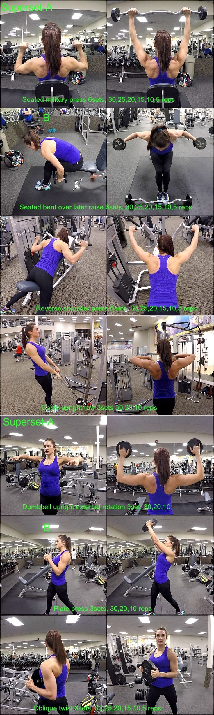 10 Weeks To Fitness Day-31: Shoulders & Obliques and we are building our shoulders and working our obliques.