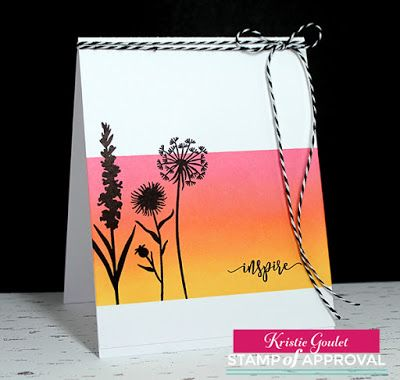 Kreative Kristie: The Naturally Inspired Stamp of Approval Blog Hop Day 2 & Giveaway