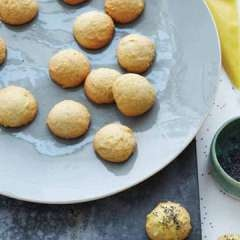 Buttermilk Tea Cookies with Lemon Glaze and Poppy Seeds [click for recipe]