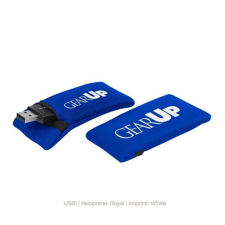 #gearup  High density open cell foam single, USB flash drive holder.