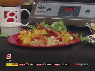 Recipe: Thai Pumpkin Stir Fry. With chef Wendell On Air. Does he have enough airtime to finish his Pumpkin stir fry off with with the use of the #pressartusa lemon & lime squeezer. Let's watch it.