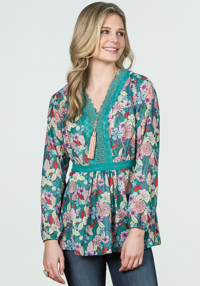3c71e797c0 Kookaburra Top - Matilda Jane Clothing | My Style | Floral tops ...