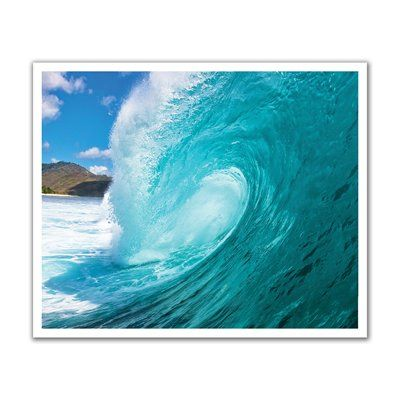 JP London POS2093 Hang Ten Ocean Surf Peel and Stick Removable Wall Decal Mural