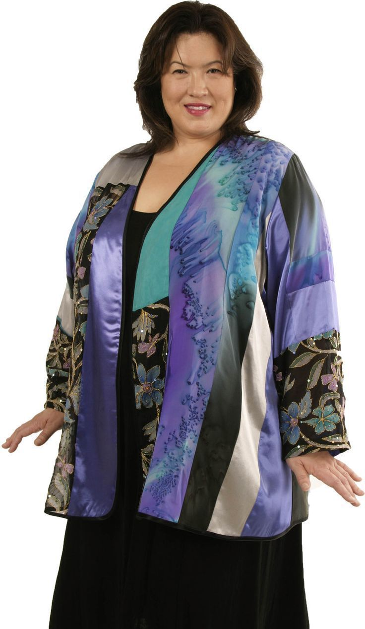 Plus Size Special Occasion Jacket Sequins Artwear Turquoise Teal Purple:  SHOP NOW: Special Occasion Jackets Sizes 14 - 36, mother of the bride, formal, elegant and unique women's clothing, xoPeg #PeggyLutzPlus #PlusSize #plussizestyle #plussizefashion  #womenstyle #womanstyle #womanfashion #style #springstyle #springfashion #plusbridal #motherofbride #motherofgroom #wedding #springwedding #style #divastyle #couture #spring #fashion
