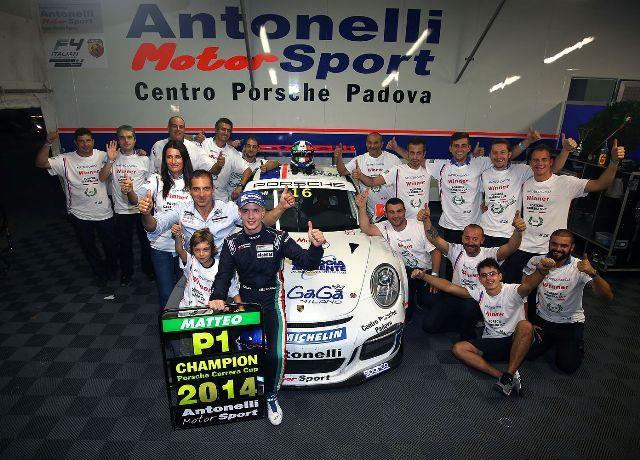 Porsche Carrera Cup Italia, al baby-fenomeno Cairoli il titolo 2014
